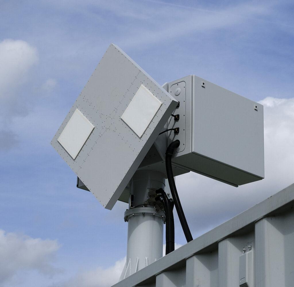 more close up of NRS radar